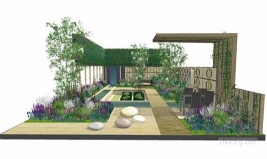 2013年切尔西百年花展 精选花园设计草图