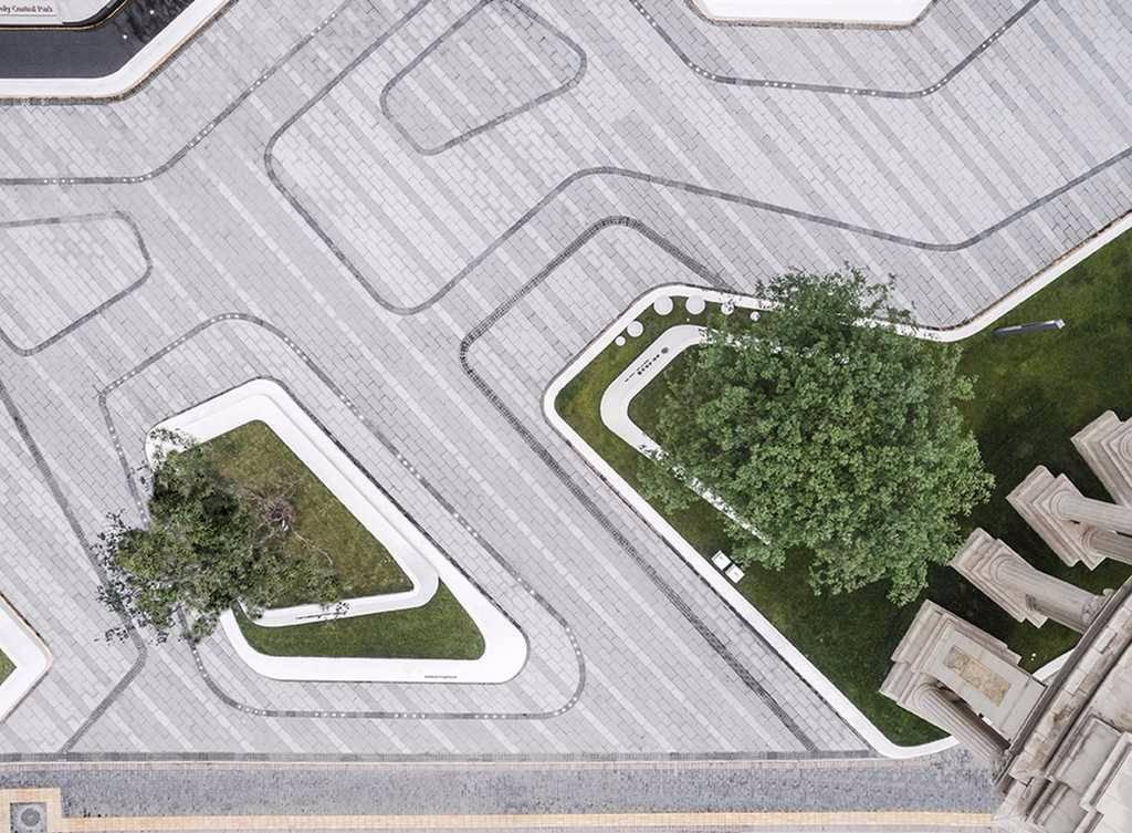 西安保利元素公园景观设计|GVL怡境中央设计室内设计工业风越野车国际图片