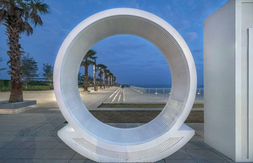 广东湛江保利预算原点景观设计|GVL怡境汽车广场v预算国际图片