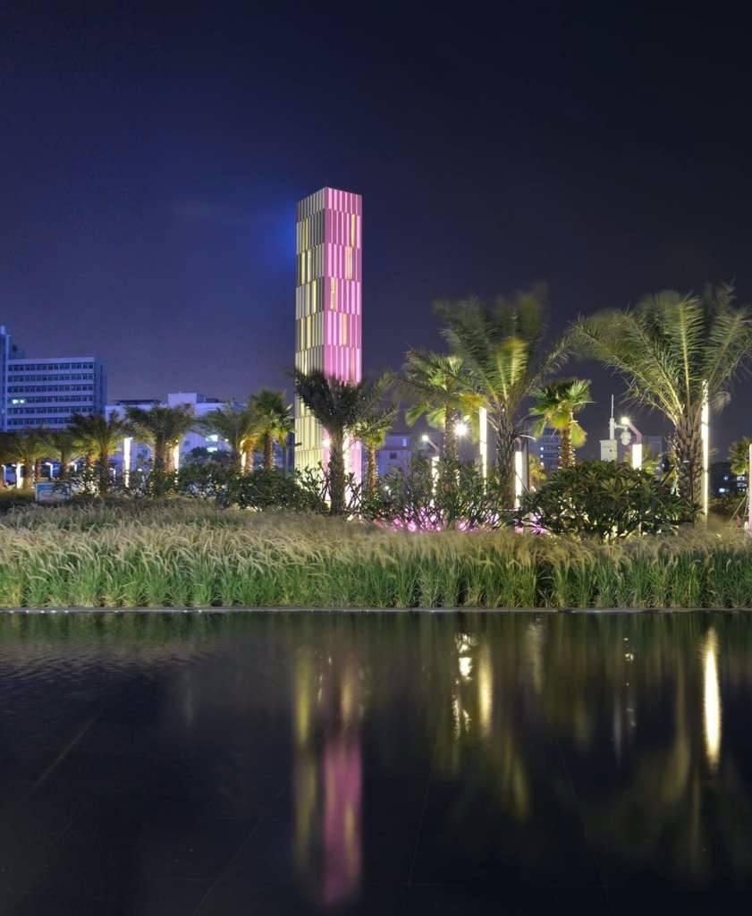 广东湛江保利字体原点景观设计|GVL怡境国际广场v字体平面设计图片