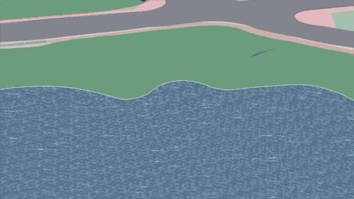 成都麓湖生态城G1艺展场景景观设计|GVL怡境v场景公园小素描图片素材图片