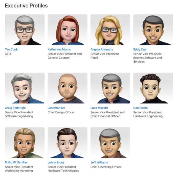表情世界的男人表情包图片可爱聊天图片用大全日,Apple高管化身1emoji一起Happy图片