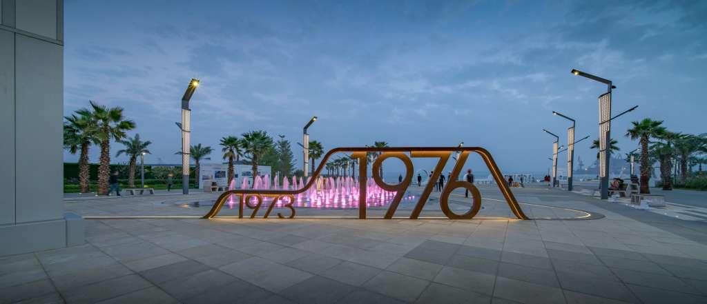 广东湛江保利国际广场景观设计|GVL怡境原点两层钢构设计图图片
